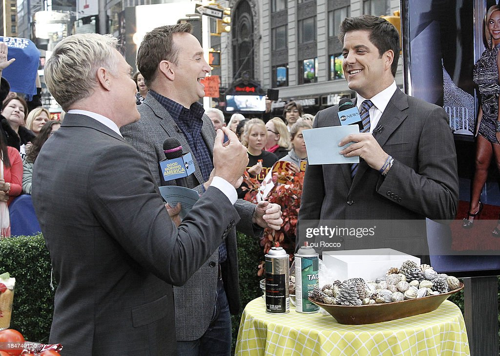 AMERICA - Clinton Kelly is a guest on 'Good Morning America,' 10/14/13, airing on the ABC Television Network. SAM