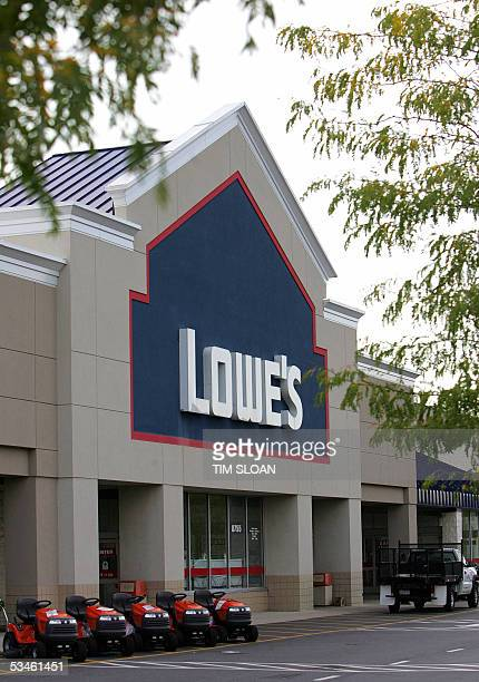 The Lowe's store is seen 23 August in Clinton Maryland Lowe's is the second largest hardware and home improvement retail store The Lowe's story began...