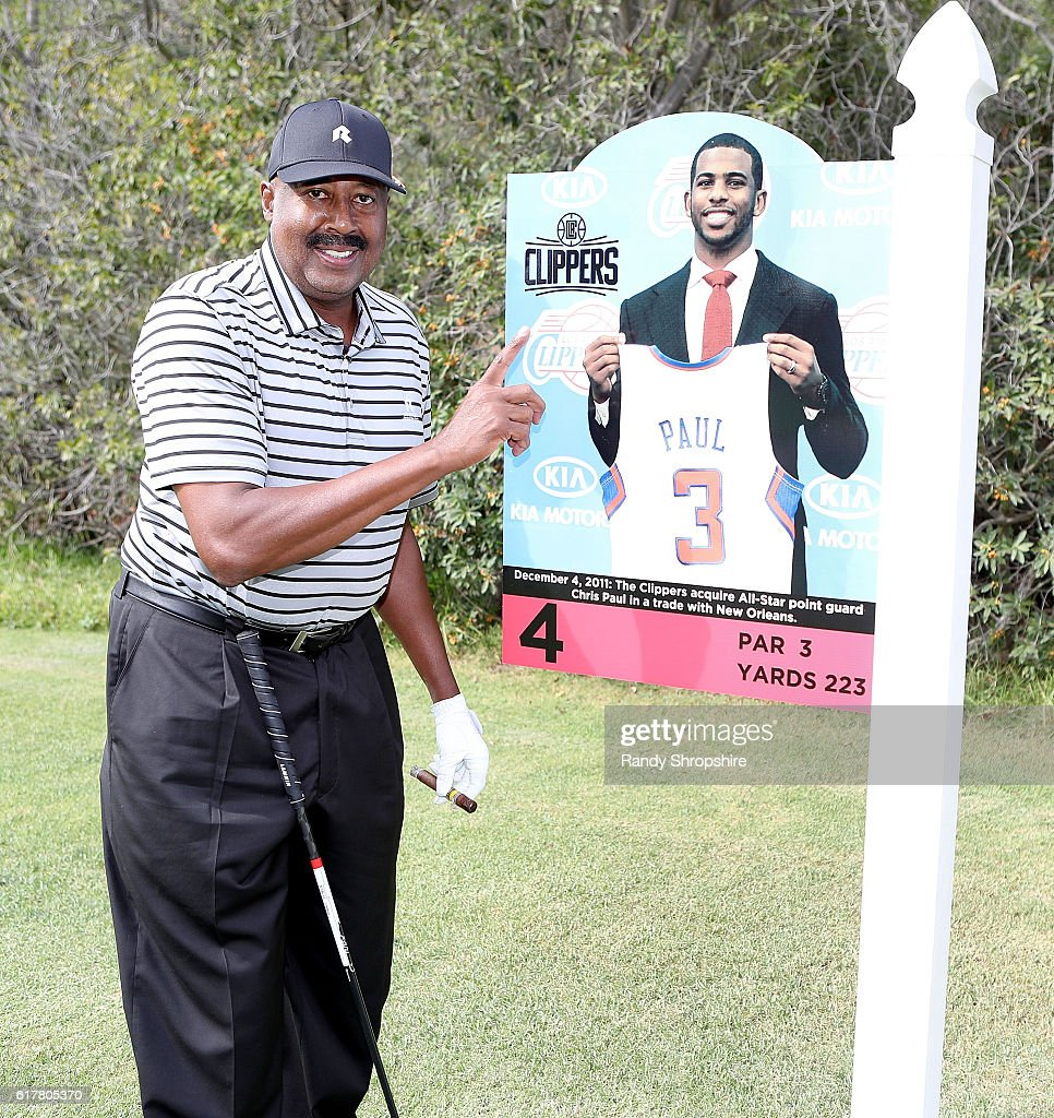 Clippers asst. coach Mike Woodson attends LA Clippers Foundation Charity Golf Classic on October 24, 2016 in Pacific Palisades, California.