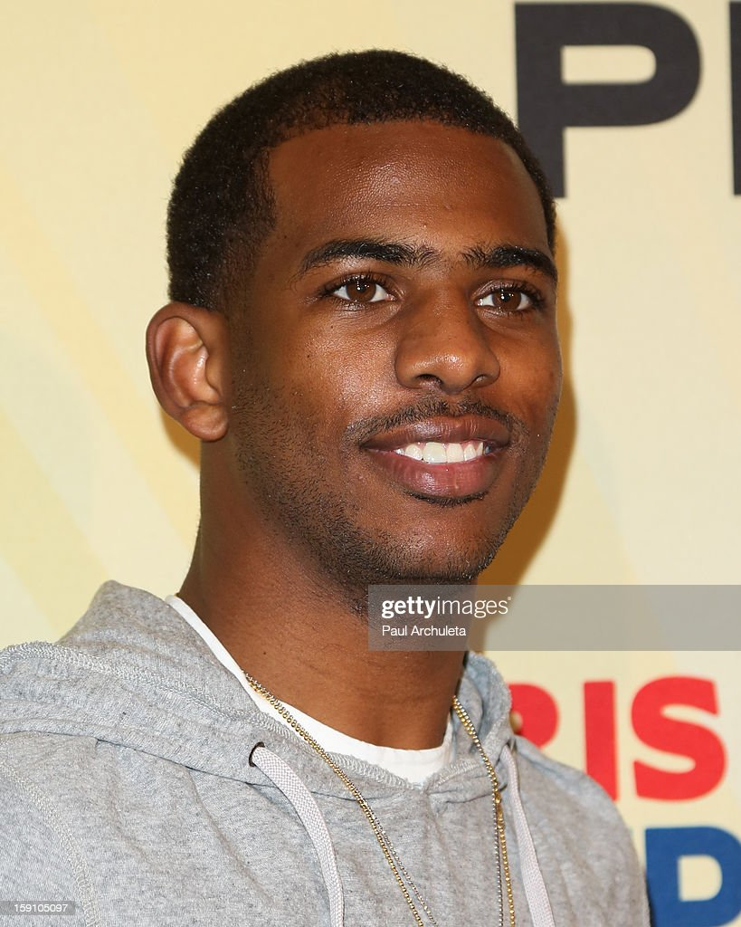 LA Clippers Chris Paul attends his 5th annual PBA All-Stars charity tournament at Lucky - clippers-chris-paul-attends-his-5th-annual-pba-allstars-charity-at-picture-id159105097