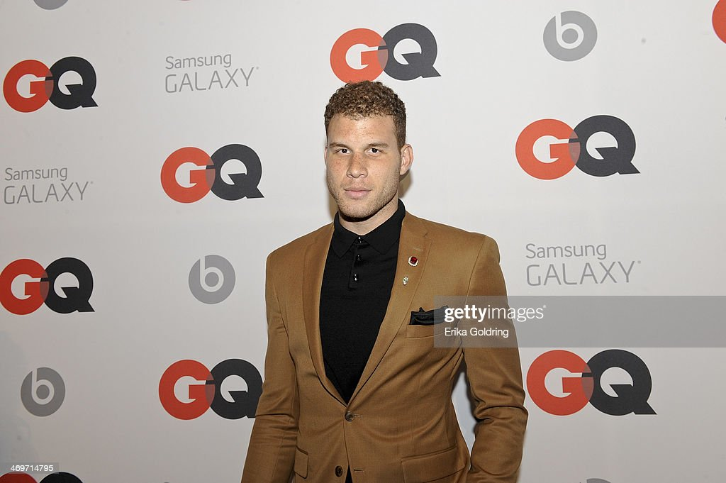 L.A. Clippers Power forward <a gi-track='captionPersonalityLinkClicked' href=/galleries/search?phrase=Blake+Griffin+-+Basketspelare&family=editorial&specificpeople=4216010 ng-click='$event.stopPropagation()'>Blake Griffin</a> attends GQ & LeBron James NBA All Star Party sponsored by Samsung Galaxy and Beats at Ogden's Museum's Patrick F. Taylor Library on February 15, 2014 in New Orleans, Louisiana.