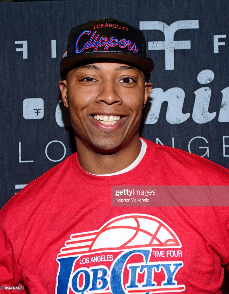 LA Clippers Small Forward Caron Butler Makes Appearance At Five