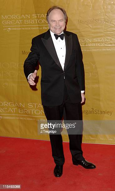 Clive Anderson during Morgan Stanley Great Britons 2005 at Guildhall in London Great Britain
