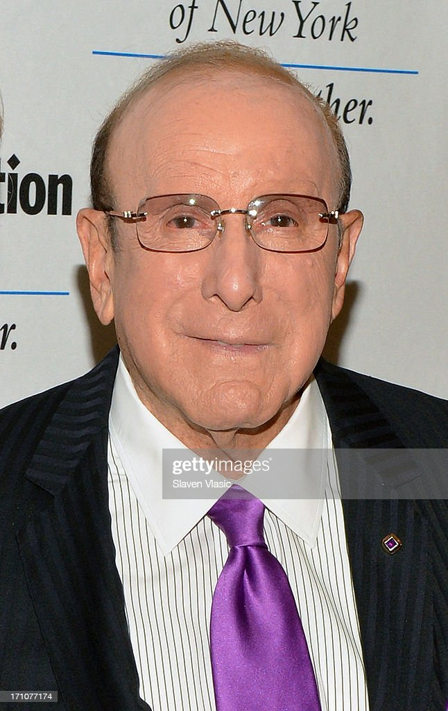 Clive Davis attend UJA-Federation Of New York Music Visionary Of The Year Award Luncheon at The Pierre Hotel on June 21, 2013 in New York City.