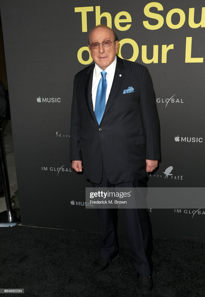 Clive Davis attends the Apple Music Los Angeles Premiere Of 'Clive Davis: The Soundtrack Of Our Lives' at Pacific Design Center on September 26, 2017 in West Hollywood, California.