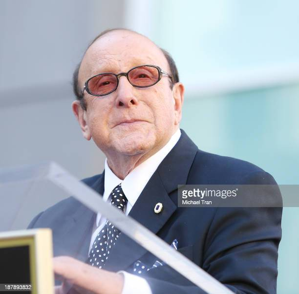 Clive Davis attends the ceremony honoring Jennifer Hudson with a Star on The Hollywood Walk of Fame held on November 13 2013 in Hollywood California