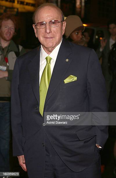 Clive Davis attends the Manilow On Broadway Opening Night After Party at the Copacabana on January 29 2013 in New York City