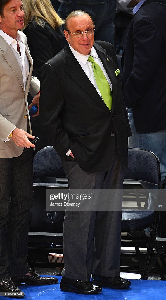 <a gi-track='captionPersonalityLinkClicked' href=/galleries/search?phrase=Clive+Davis&family=editorial&specificpeople=209314 ng-click='$event.stopPropagation()'>Clive Davis</a> attends the New York Knicks vs Boston Celtics basketball game at Madison Square Garden on April 17, 2012 in New York City.