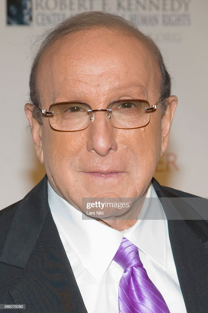 Clive Davis attends the 'Robert F Kennedy Center For Justice Human Rights Bridge Dedication Gala' at Pier 60 in New York City