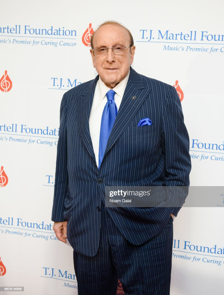 Clive Davis attends the T.J. Martell 42nd Annual New York Honors Gala at Guastavino's on October 17, 2017 in New York City.