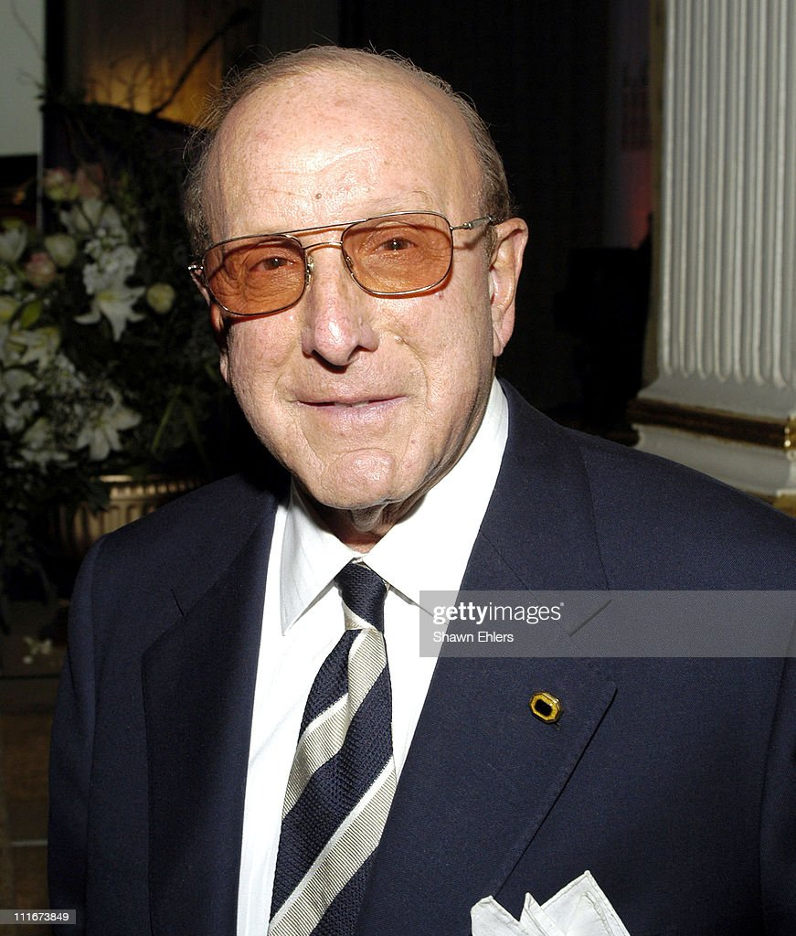 Clive Davis during The Broadcasters Foundation Presents their 2004 Golden Mike Award to Frances W. Preston of BMI at Plaza Hotel in New York City, New York, United States.