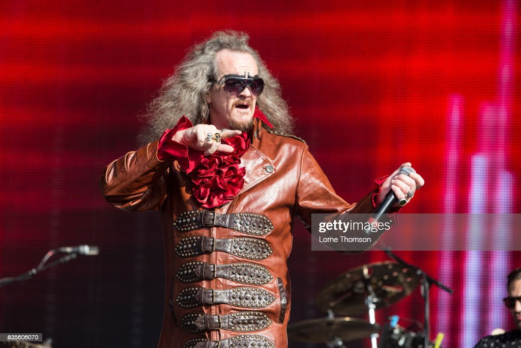 Clive Jackson of Doctor And The Medics performs at Rewind Festival on August 19, 2017 in Henley-on-Thames, England.