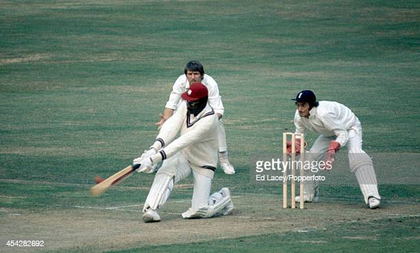 Clive Lloyd batting for the West Indies during the 3rd Test Match against England at Lord's Cricket Ground in London on 23rd August 1973 West Indies...