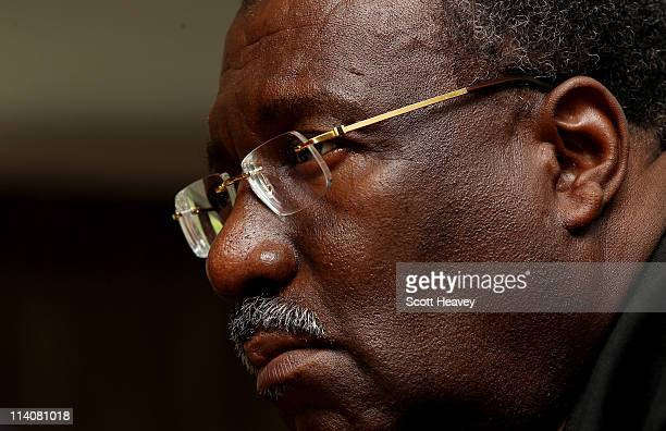 Clive Lloyd Chairman of the ICC Cricket Committee speaks to the media during an ICC Cricket Committee press conference at Lords on May 11 2011 in...