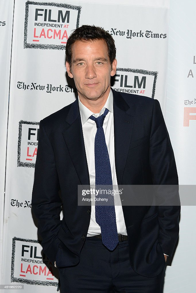 Clive Owen attends the Film Independent screening and QA of 'The Knick' at Bing Theatre At LACMA on July 9 2014 in Los Angeles California