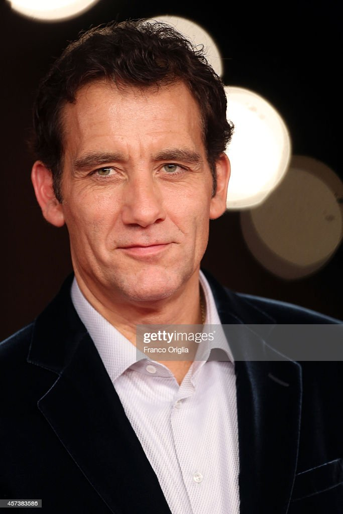 Clive Owen attends the 'The Knick' Red Carpet during the 9th Rome Film Festival on October 17 2014 in Rome Italy