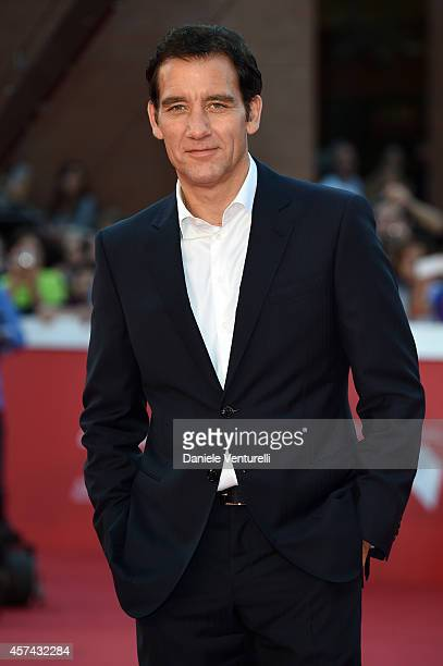 Clive Owen On The Red Carpet during The 9th Rome Film Festival at Auditorium Parco Della Musica on October 18 2014 in Rome Italy
