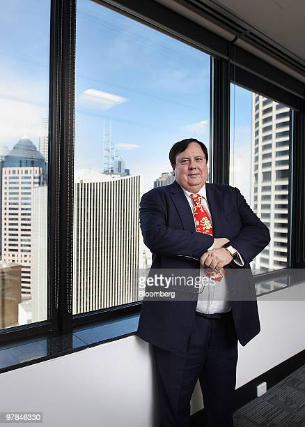 Clive Palmer chairman of Mineralogy Pty Ltd poses for a photograph during an interview in Sydney Australia on Friday March 19 2010 Resourcehouse Ltd...