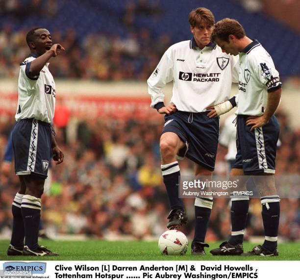 Clive Wilson [L] Darren Anderton [M] David Howells Tottenham Hotspur