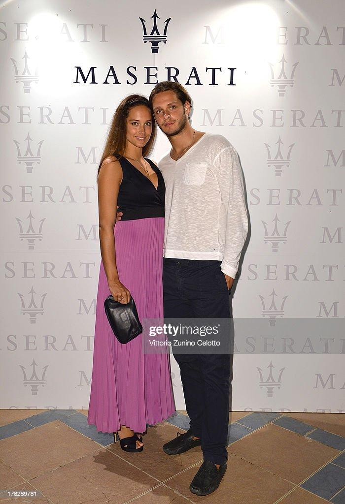 Clizia and Davide Fornasier attend the 70th Venice International Film Festival at Terrazza Maserati on August 28, 2013 in Venice, Italy.