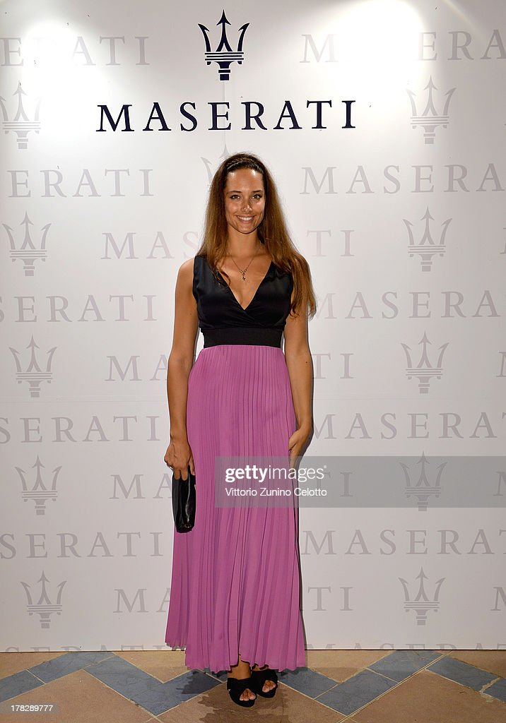 Clizia Fornasier attends the 70th Venice International Film Festival at Terrazza Maserati on August 28, 2013 in Venice, Italy.