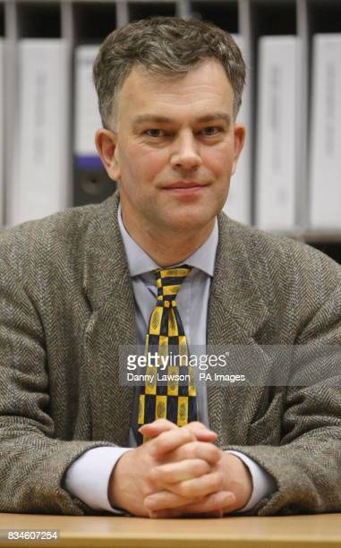 Cllr Martin Ford during a break in proceedings of the public inquiry into Donald Trump's 1 billion golf resort plans at Aberdeen Exhibition and...