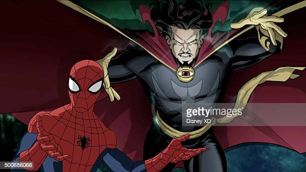 WEB WARRIORS 'Cloak Dagger' SpiderMan and Dr Strange attempt to help the superpowered runaways Cloak Dagger but the mystical Dormammu has other plans...
