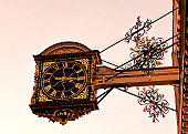 Clock adorns