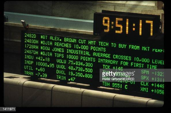 Stockmarket Ticker Stock Photos And Pictures Getty Images
