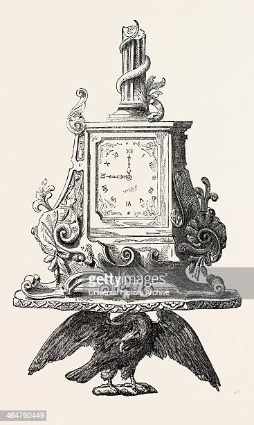 Clock By Frodsham 1851 Engraving
