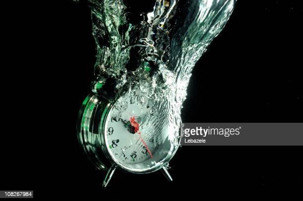 Orologio di caduta in acqua