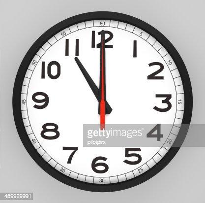 how to write 10 o clock