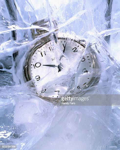 Clock Frozen In Time