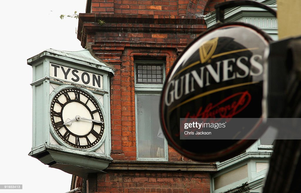 A clock is seen above a pub on October 15, 2009 in Dublin, Ireland. Dublin is Ireland's capital city, located near the midpoint of Ireland's east coast, on the River Liffey. It is a vibrant city with a thriving music scene and has been voted one of the top 25 cities of the world to live in. Irish President Mary McAleese signed the European Union's Lisbon treaty today, two weeks after voters approved the Lisbon Treaty in a controversial referendum.