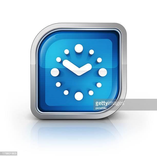 clock oder Kalender, Wecker-Symbol