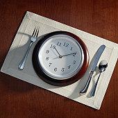 Clock Place Setting