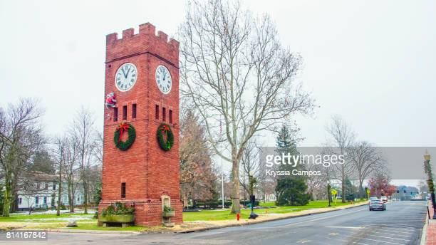 Clock Tower and Park, Hudson, Ohio