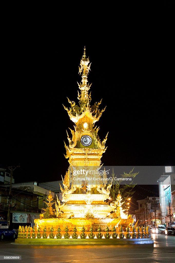 Clock Tower, Chiang Rai Province, Thailand