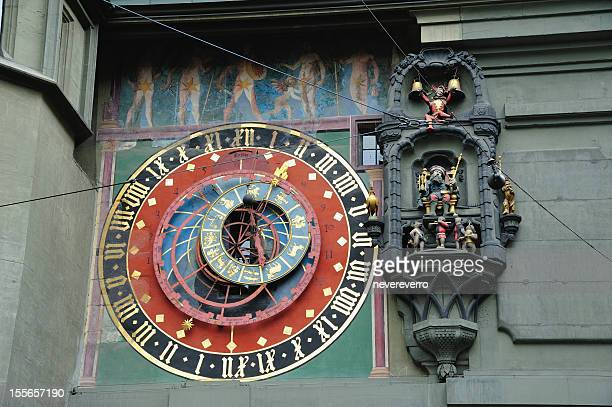 Clock Tower detail in Bern