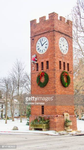Clock Tower in Hudson, Ohio