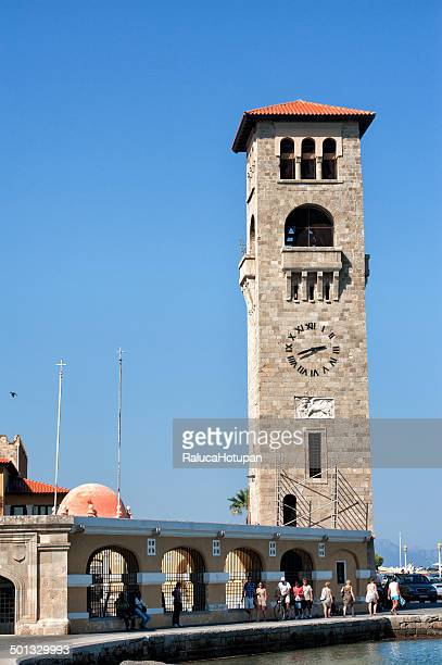 Clock tower in Rhodes old market
