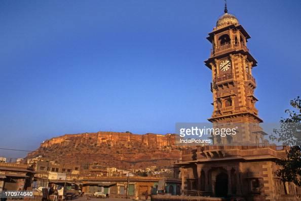 Clock tower Jodhpur Rajasthan India