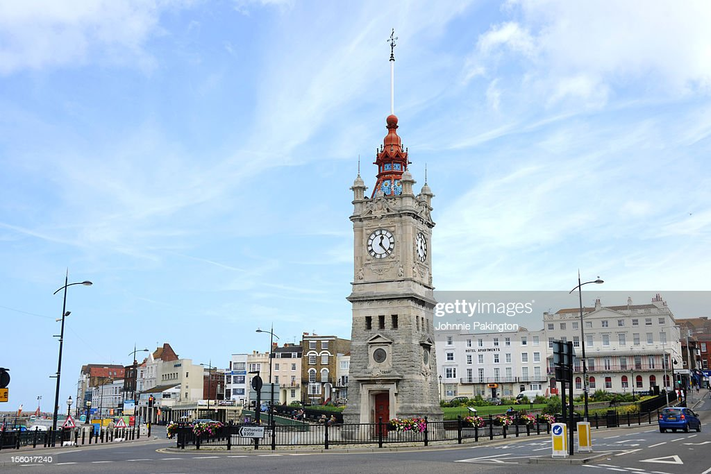 Clock Tower, Margate : Stock Photo