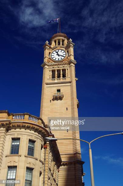 Clock tower of Central Station, Haymarket, Sydney, New South Wales, Australia
