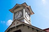 A clock tower of Sapporo,Hokkaido built in 1878