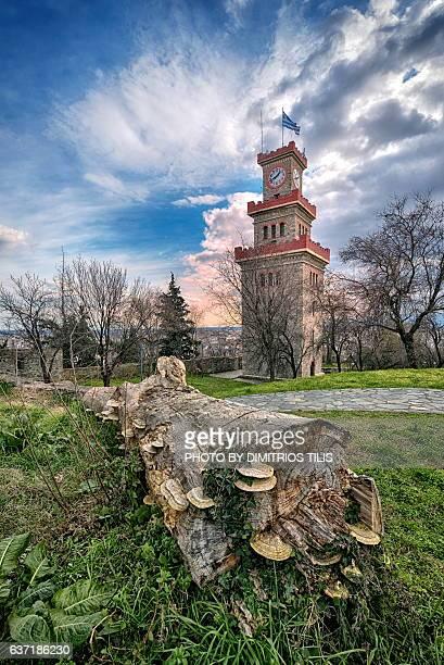 Clock tower of Trikala town