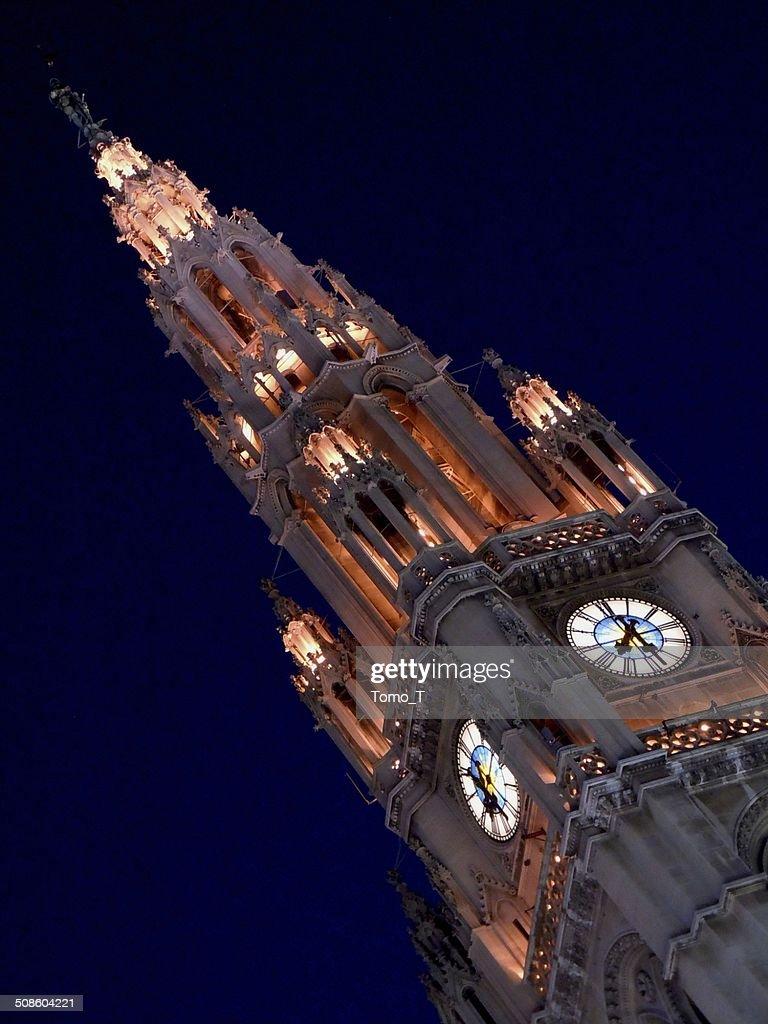 Torre de reloj : Foto de stock