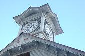 Clock tower in Sapporo