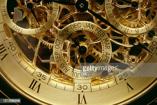Clockwork orange gold