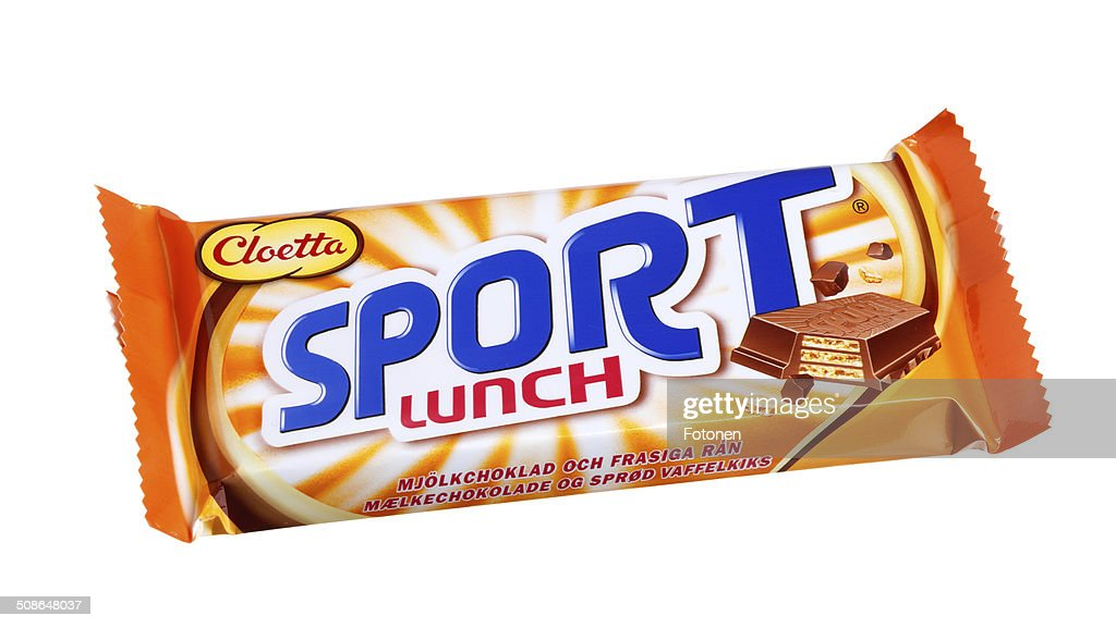 Cloetta Sportlunch : Stock Photo